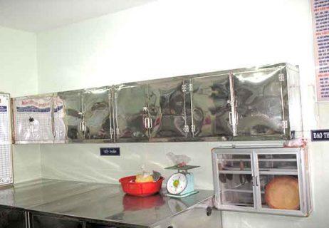 Thiết bị nhà bếp trường mầm non