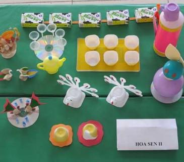 Đồ dùng đồ chơi tự làm cấp mầm non các loài hoa