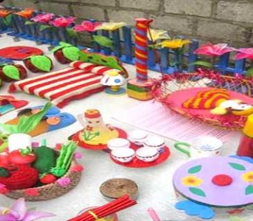 đồ dùng đồ chơi tự tạo cấp trường năm học 2013 - 2014