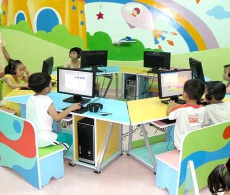 Bộ bàn ghế Kidsmart mầm non chân sắt
