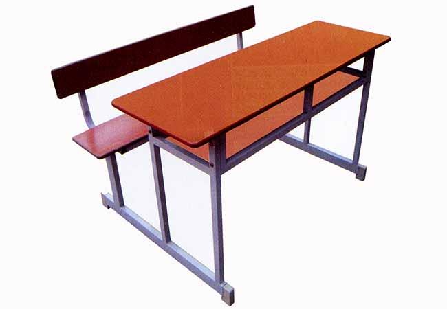 Bàn ghế học sinh 2 ghế liền