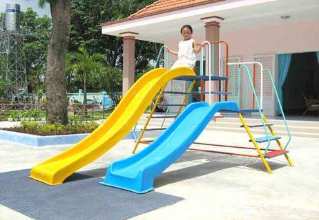 Cầu trượt nhà trẻ mẫu giáo