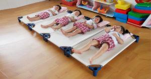 Giường ngủ cho trẻ mầm non