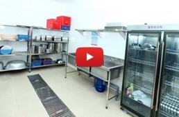 thiết bị nhà bếp trường mầm non - Bếp ăn trường mầm non
