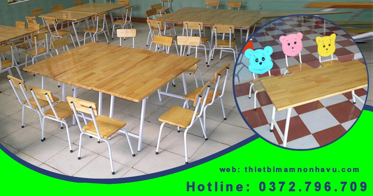bàn ghế mầm non giá rẻ tại hcm